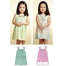 Sewing Pattern - Toddler Pattern, Girls Pattern, Dress Pattern in Two Views - #K3775
