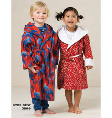 Sewing Pattern - Toddler Pattern, Sleepwear Pattern, Robes Pattern - #K3509