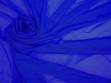 Stretch Mesh- Royal Blue Micro Mesh Fabric, Nylon Stretch Mesh