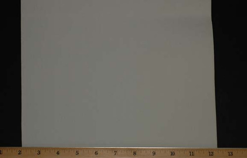 "Extra Wide Elastic - Polyester Rubber Knit -10"" Wide White Laid Flat with Ruler to Mark Width"
