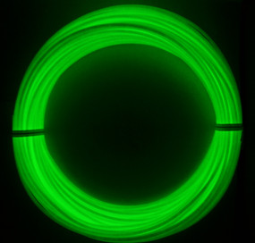 Example 100g amount of Glow Green ABS Filament