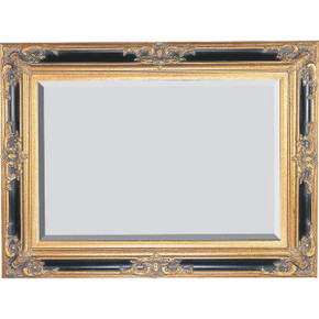 Grand Victorian Frame 30X40 Antique Gold with Black