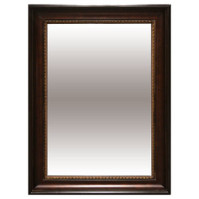 American Woods Mirror 24x36 Dark Walnut Bronze