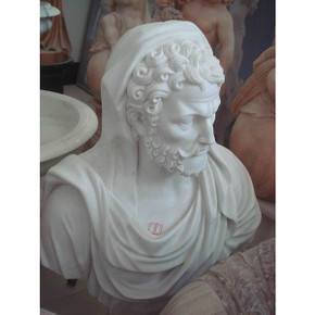 White Marble Bust 1