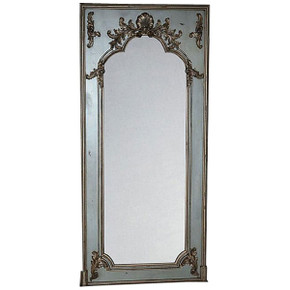 Maison Royale Grand Floor Mirror Smoked Silver