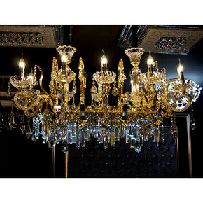 Tangier Double Oval Chandelier