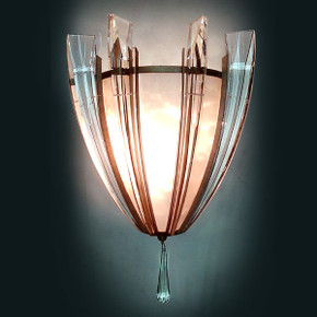 Crystal Arc Sconce
