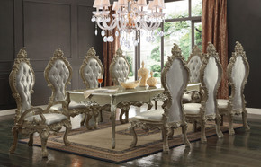 Regal Champagne Dining Set of 9