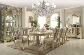 Louis Phillip 9pc Dining Set
