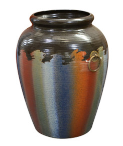 Multi-Color Small Vase