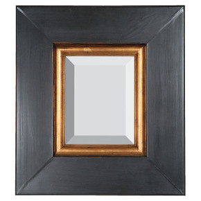American Grand Primative Frame 30X40 Black Crackle Burnished Gold