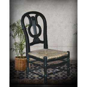 Lyre Side Chair -BK