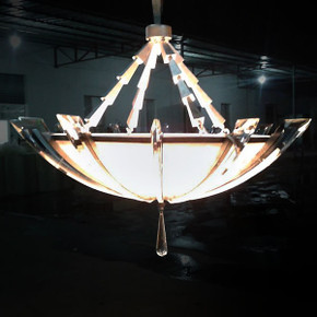 Crystal Arc Chandelier