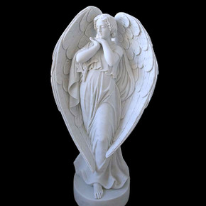 Angel - White Marble