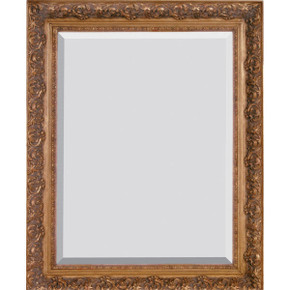 Spec Fleur De Lis Frame 30X30 Burnished Gold