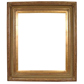 Faithful Foliate Frame 24X48 Dark Gold