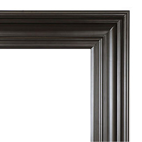 Grand Simplicity Frame 30X30 Black with Red Undertones