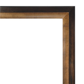 Golden Wood Frame 30X30