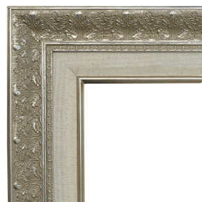 Focal Point Frame 12X24 Silver with Linen Liner