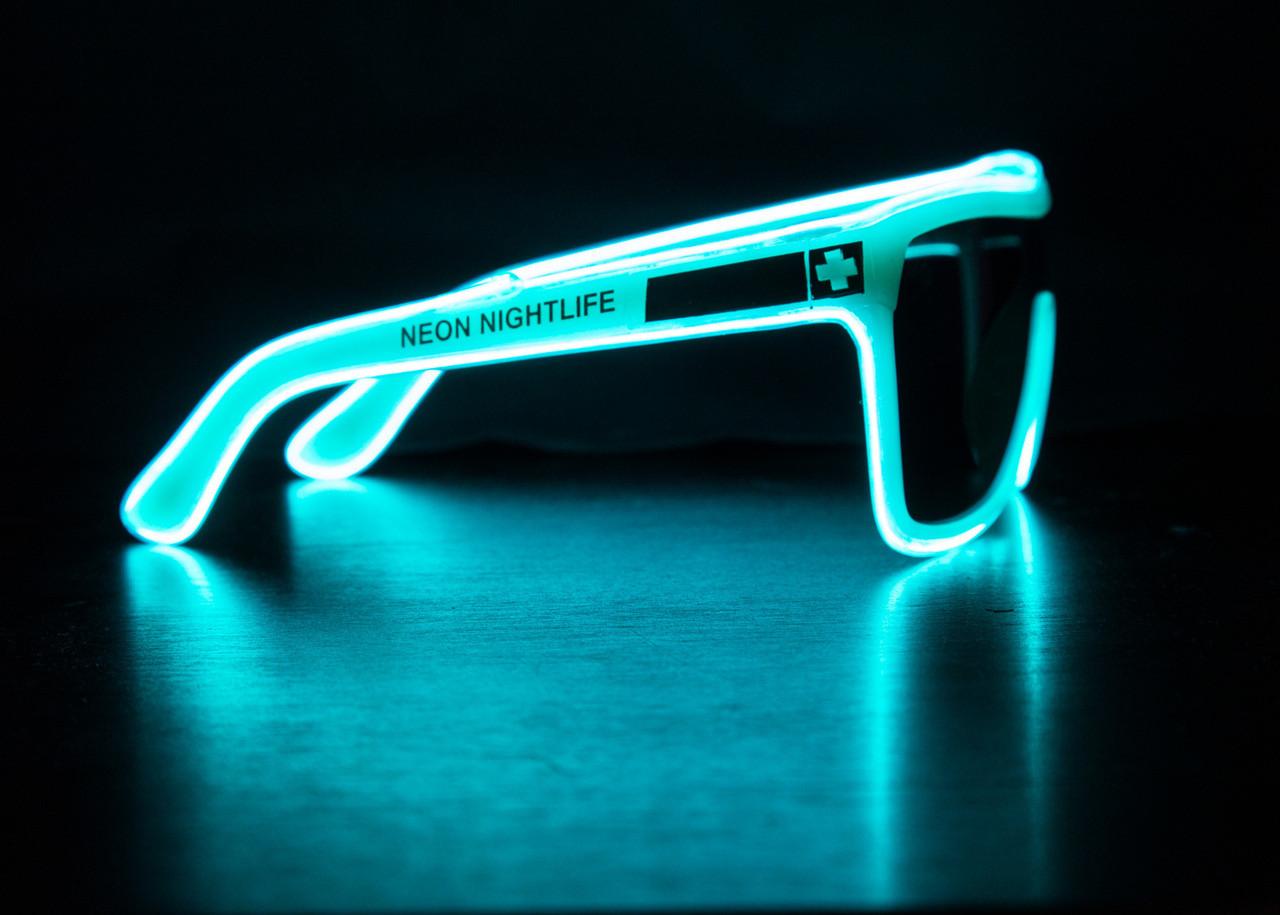 Spy Flynn Inspired Light Up Glasses - Neon Nightlife