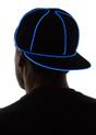Blue Light Up Snapback Baseball Hat