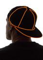 Orange Light Up Snapback Baseball Hat