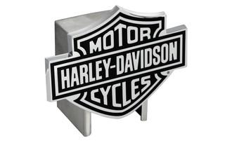 HARLEY-DAVIDSON BLACK LOGO HITCH COVER (HDHCB14)