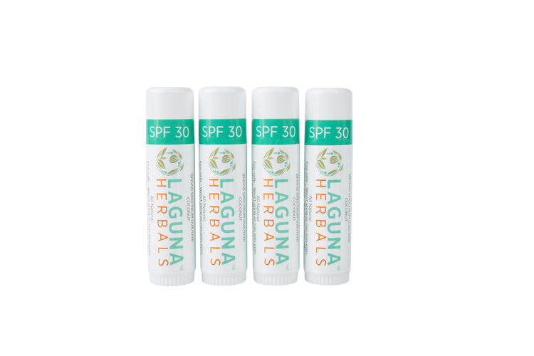 Crazy for Coconut - Four Coconut SPF 30 Mini Sunscreen Sticks