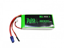 Pulse 5000mAh 2S 7.4V 15C - Receiver Battery PLURX15-50002