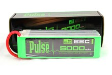 Pulse Lipo 5000mAh 22.2V 65C - Ultra Power Series PLU65-50006