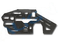 H50159 500PRO Carbon Main Frame(R)/1.6mm