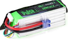 Pulse Lipo 1800mAh 22.2V 45C - Ultra Power Series PLU45-18006