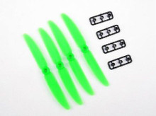 5030 Gemfan 5x3 STD/REV Pairs Green Props for 250 Quad Racer