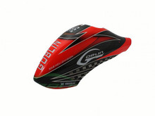 SAB GOBLIN 380 CANOPY - RED/BLACK H0545-S