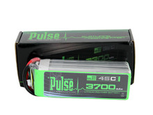 Pulse Lipo 3700mAh 22.2V 45C - Ultra Power Series PLU45-37006