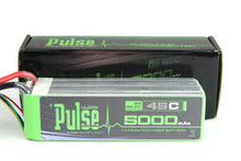 Pulse Lipo 5000mAh 22.2V 45C - Ultra Power Series PLU45-50006