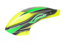SAB Canomod Airbrush Canopy Yellow/Green - Goblin 700 Competition H0357-S