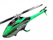 SAB Goblin 380 Helicopter Green kit - Carbon Edition SG387