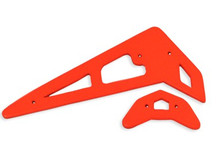 FUP-029 Fusuno Neon Orange Vertical Fins - Trex 250