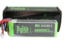 Pulse Lipo 2250mAh 11.1V 65C - Ultra Power Series PLU65-22503