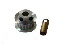 SAB Aluminum Motor Pulley Z18 - Goblin 500/570 H0215-18-S