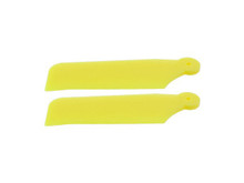 Tail Blades - Protos 380 MSH41203 - Yellow