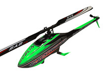 Goblin Black Thunder 700 Green/Carbon wThunderbolt Main&Tail Blades SG712