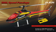 500L Speed Fuselage Red & Yellow HF5025