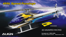 450L Speed Fuselage – White & Blue -HF4509