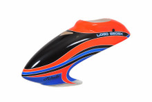 04916 Canopy Mikado Logo 550 SX V2 neon-orange/blue