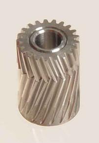 04121 Pinion for herringbone gear 21 Teeth M0.5 Mikado Logo