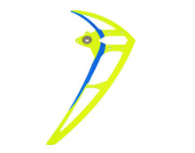 04770 Vertical stabilizer neon yellow Mikado Logo
