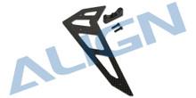 H50T009XX 500X Carbon Fiber Vertical Stabilizer