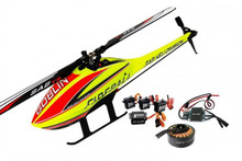 SAB Goblin Fireball 280 Combo - (1) Motor, (1) ESC, (4) Servos + Main & Tail Rotor Blades Included